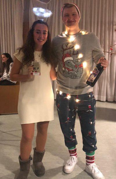 Gewinner Kostüm Weihnachtsfeier 2019 | © GBM e. V.